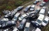 Десятки трупів і потерпілих: у Китаї зіткнулися 30 авто